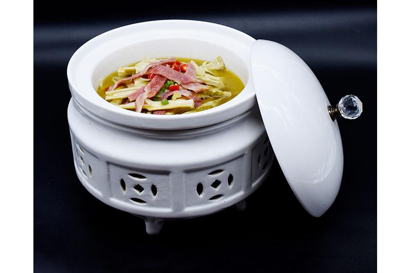 培根鲜笋汤